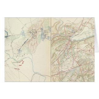 Stierlauf, Manassas Karte