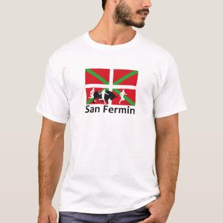 Stierlauf Sans Fermin in Pamplona und in der T-Shirt