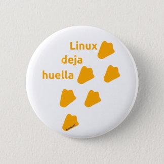 stift linux runder button 5,7 cm