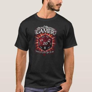 Stiftu. PapierGamer T-Shirt