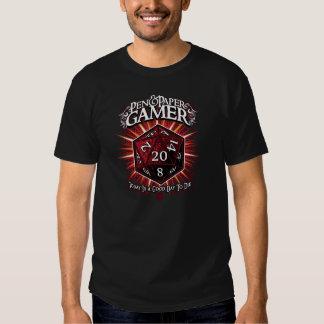 Stiftu. PapierGamer Tshirt