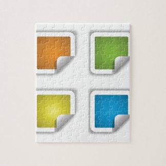 stikers puzzle
