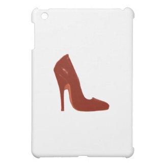 Stilett-Fersen-rechte Seite Brown das MUSEUM Zazzl iPad Mini Schale