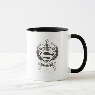 Stilisierte   Ehre des Supermann-, Wahrheit auf Tasse