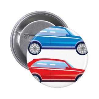 Stilisierte Übergangs-SUV-vektorkunst Runder Button 5,1 Cm
