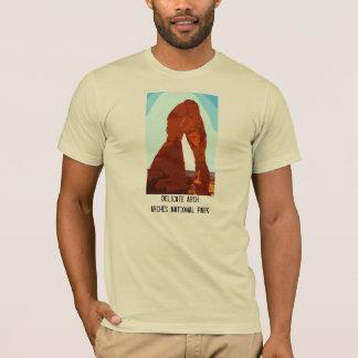 Stilisierter empfindlicher Bogen T-Shirt