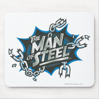 Stilisierter | Mann des Supermann-des Mousepads