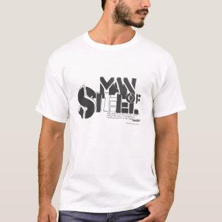 Stilisierter | Mann des Supermann-des Stahls T-Shirt