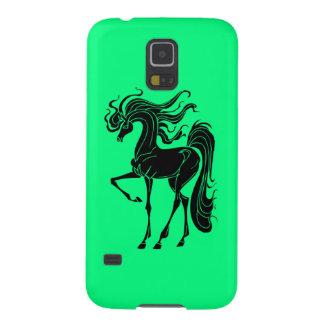 Stilisierter Pferdeentwurf Samsung S5 Cover