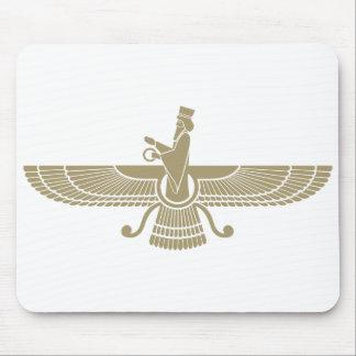 Stilisiertes Faravahar Mauspads