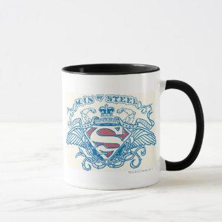 Stilisiertes | Flügel-und Arm-Logo des Supermann- Tasse