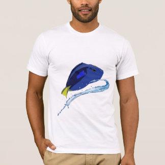 Stilisiertes Flusspferd Tang - Ruderboot T-Shirt