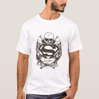 Stilisiertes | Gerechtigkeits-Logo des Supermann- T-Shirt
