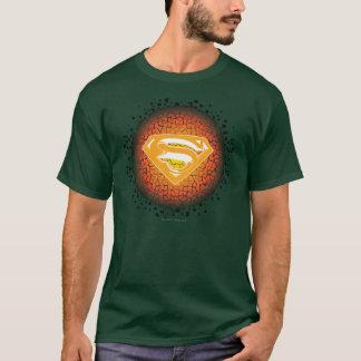 Stilisiertes   Knistern-Logo des Supermann- T-Shirt