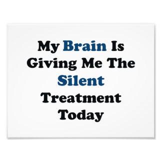 Stille Behandlung Fotos