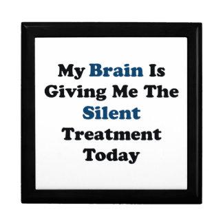 Stille Behandlung Geschenkbox