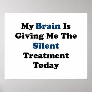 Stille Behandlung Poster