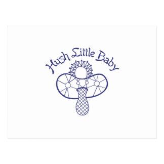 Stille-kleines Baby Postkarte