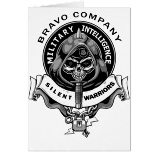 Stille Krieger des Bravo-Co Karte