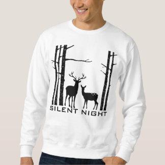 Stille Nachtrotwild im Holz - WeihnachtsSweatshirt Sweatshirt