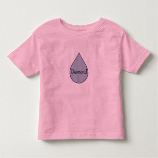 Stillendes Preist-shirt des Diamanten. 2 Jahre Kleinkind T-shirt