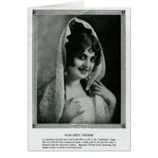 Stiller Film 1915 Porträts Margarita Fischer Karte