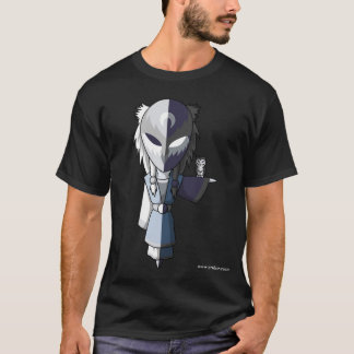 Stiller Mond (Schwarzes) T-Shirt