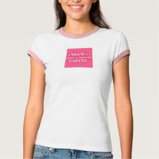 Stiller Schrei T-Shirt