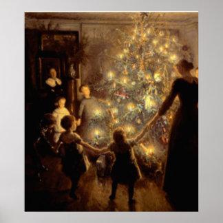 Stilles Nachtplakat 1891 Poster