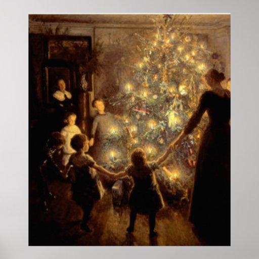 Stilles Nachtplakat 1891 Plakate