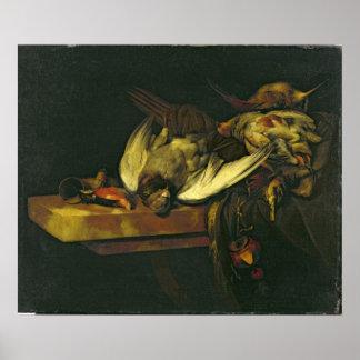 Stillleben, 1663 poster