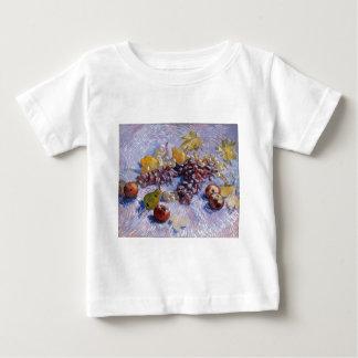 Stillleben: Äpfel, Birnen, Trauben - Van Gogh Baby T-shirt