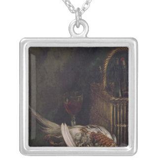 Stillleben Claude Monets   mit einem Fasan, c.1861 Versilberte Kette