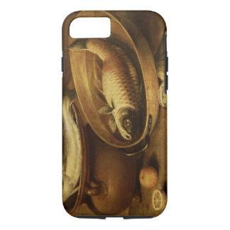 Stillleben der Fische und der Zitronen iPhone 8/7 Hülle