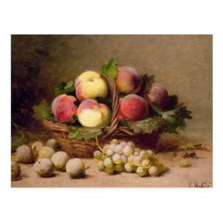 Stillleben der Frucht Postkarte