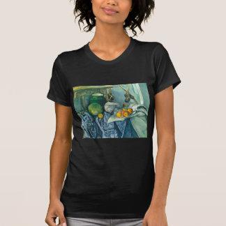 Stillleben-Ingwer-Glas und Aubergine Pauls Cezanne T-Shirt