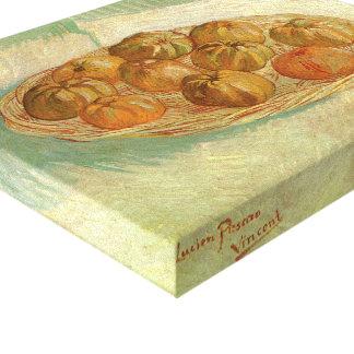 Stillleben, Korb der Äpfel durch Vincent van Gogh Leinwanddruck