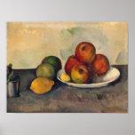 Stillleben mit Äpfeln, c.1890 Poster