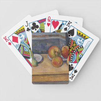 Stillleben mit Äpfeln und Birnen Bicycle Spielkarten