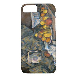 Stillleben mit Äpfeln und Pfirsichen, c.1905 iPhone 8/7 Hülle