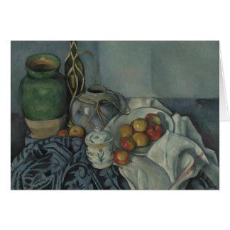 Stillleben mit Apple, Paul Cézanne, Karte