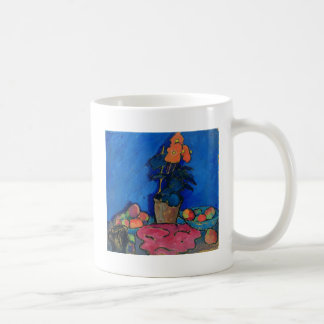 Stillleben mit Begonia, 1911 Kaffeetasse