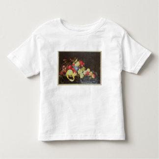 Stillleben mit Frucht in Delft-Schüssel, Hemd