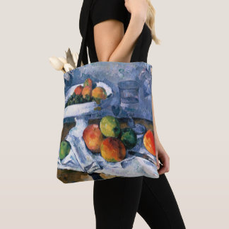 Stillleben mit Frucht-Teller Tasche