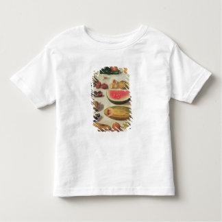 Stillleben mit Frucht und Kröte T Shirts