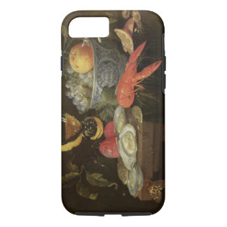 Stillleben mit Frucht und Schalentieren, 1653 (Öl iPhone 8/7 Hülle