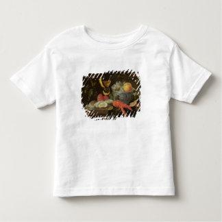 Stillleben mit Frucht und Schalentieren, 1653 (Öl T-Shirts