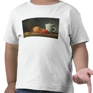 Stillleben mit Frucht-und Wein-Flasche Hemd