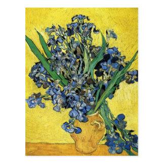 Stillleben mit Iris durch Vincent van Gogh Postkarte