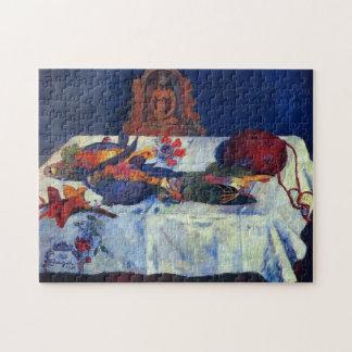 """""""Stillleben mit Papageien"""" - Paul Gauguin Puzzle"""